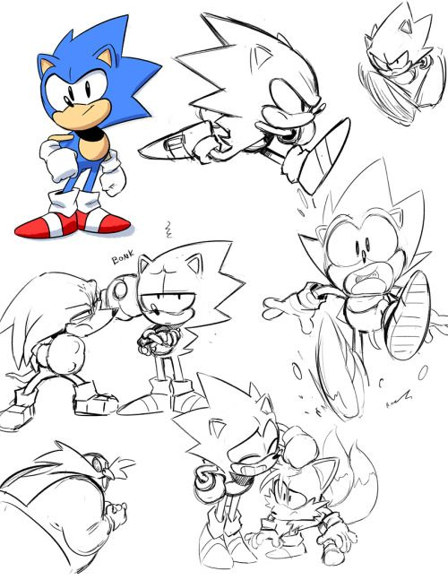 Manof2moro Sonic Sonic The Hedgehog Classic Sonic