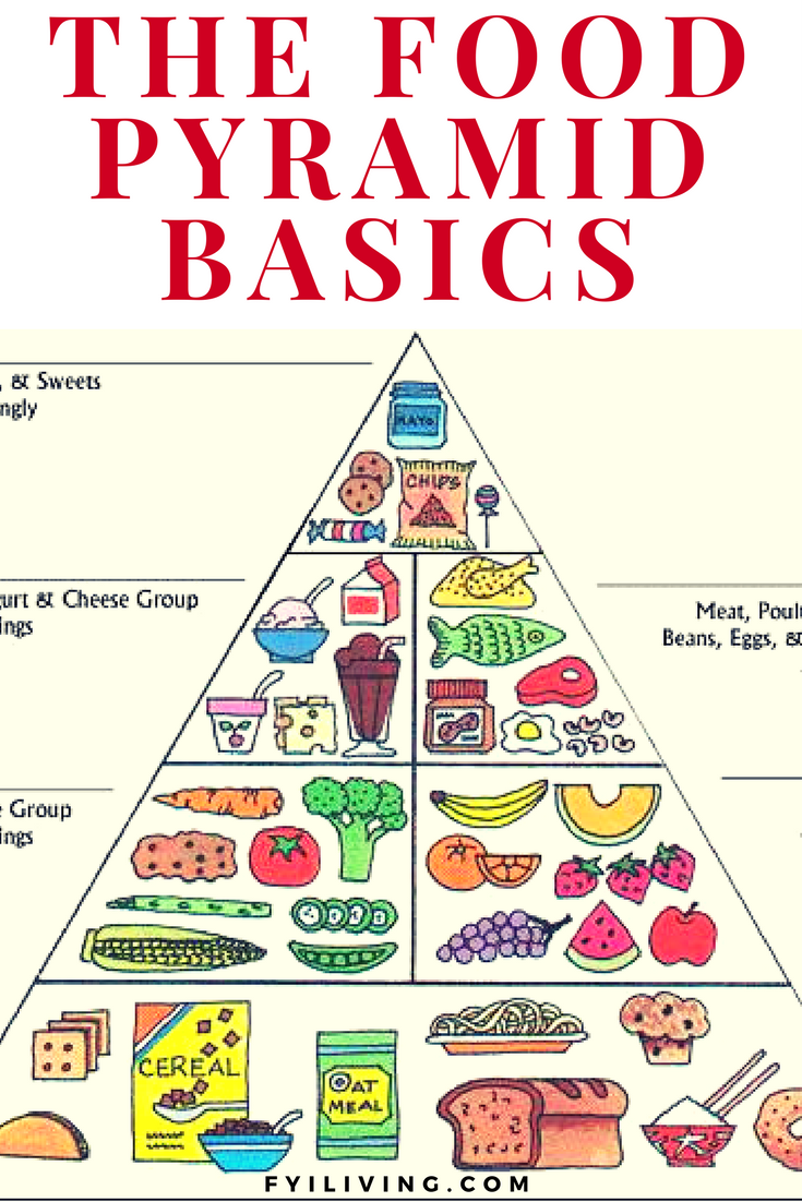 Healthy Eating Guide to the Food Pyramid Food pyramid