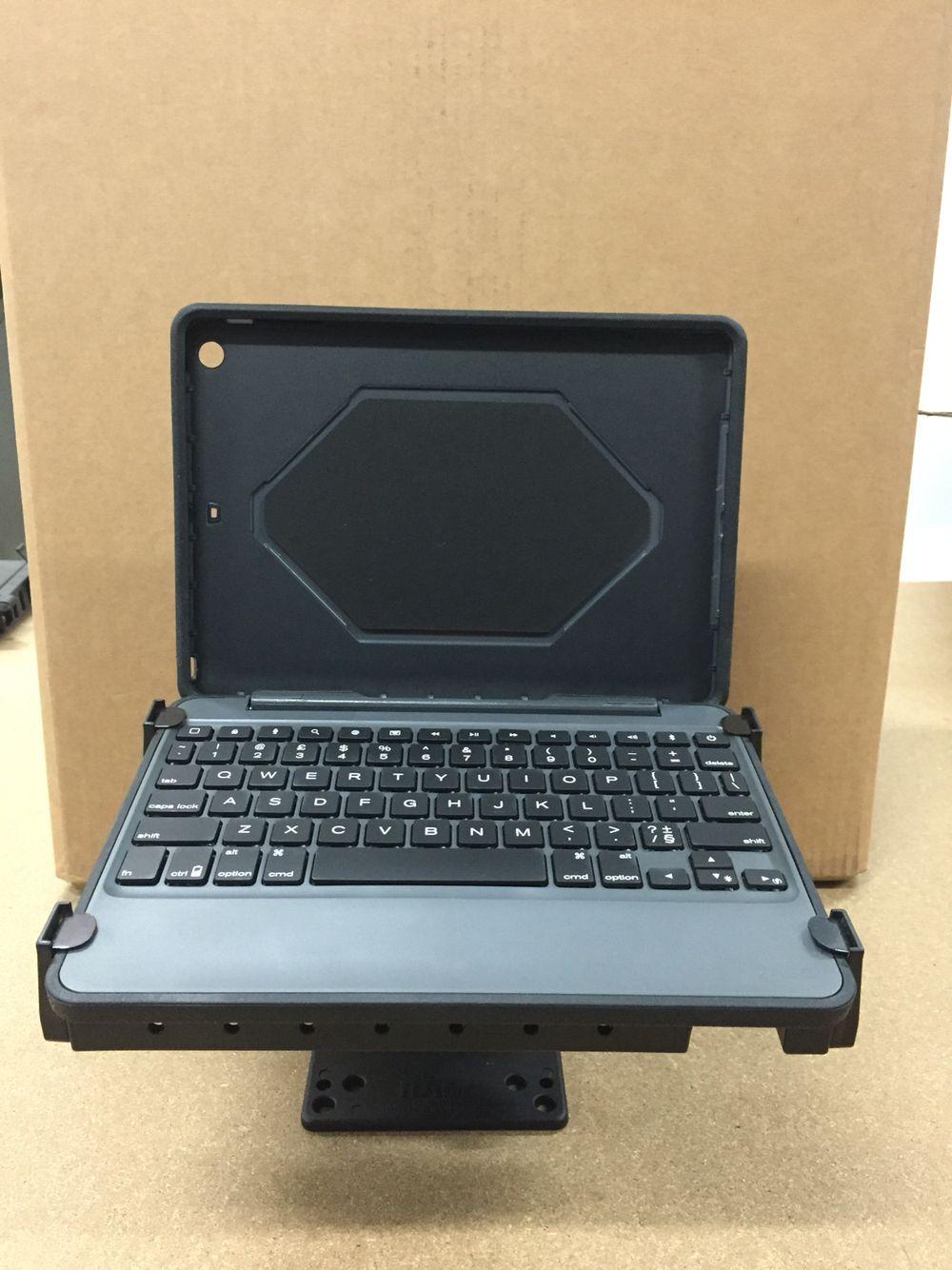 Zagg Rugged Ipad Air Keyboard Case Perfect Mounted On Ram Mount Toughtray Ipad Air Keyboard Case Ipad Mount Keyboard Case