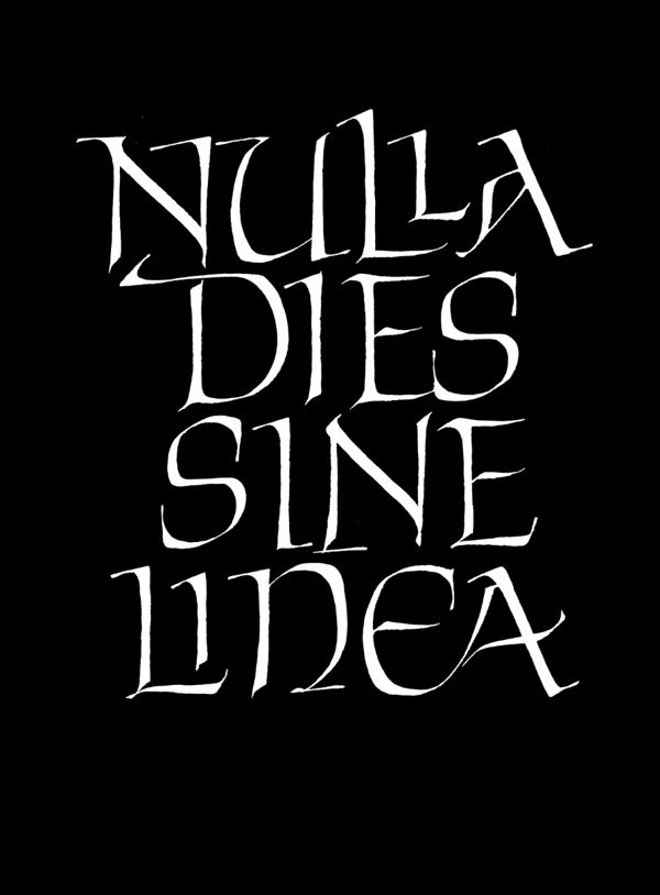 Calligraphy & lettering on Behance by Pietro Piscitelli