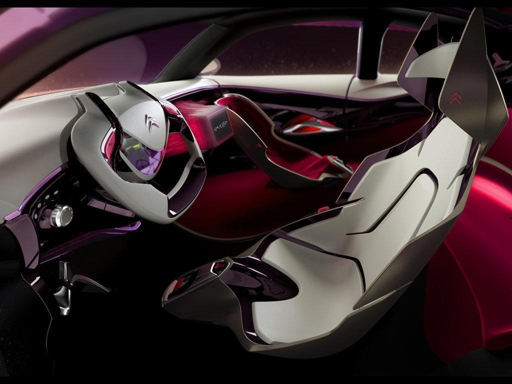 Citroen Revolte Concept Interior