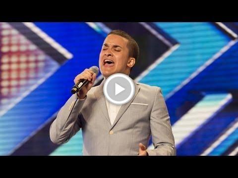 Jahmene Douglas' Audition - #Etta James' At Last- The #X Factor UK