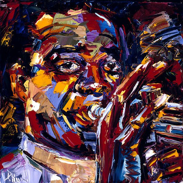 Louis Armstrong in 2020 Jazz painting, Art, Jazz art