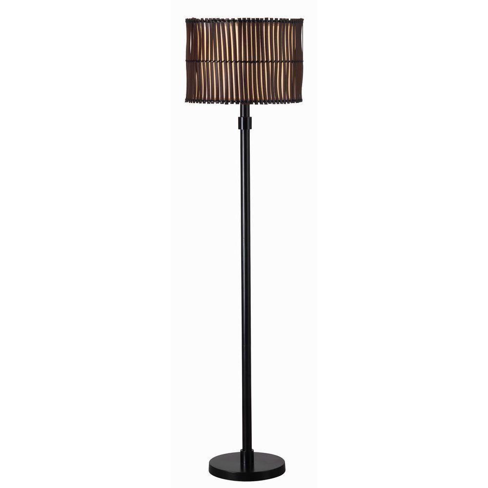 Bora 59 In Bronze Outdoor Floor Lamp