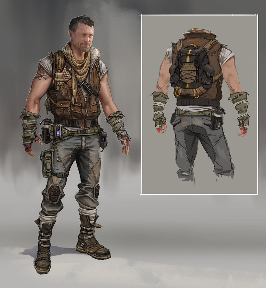 Apocalyptic Soldier Pics: Pin By Julien Didisheim On Character Design In 2019