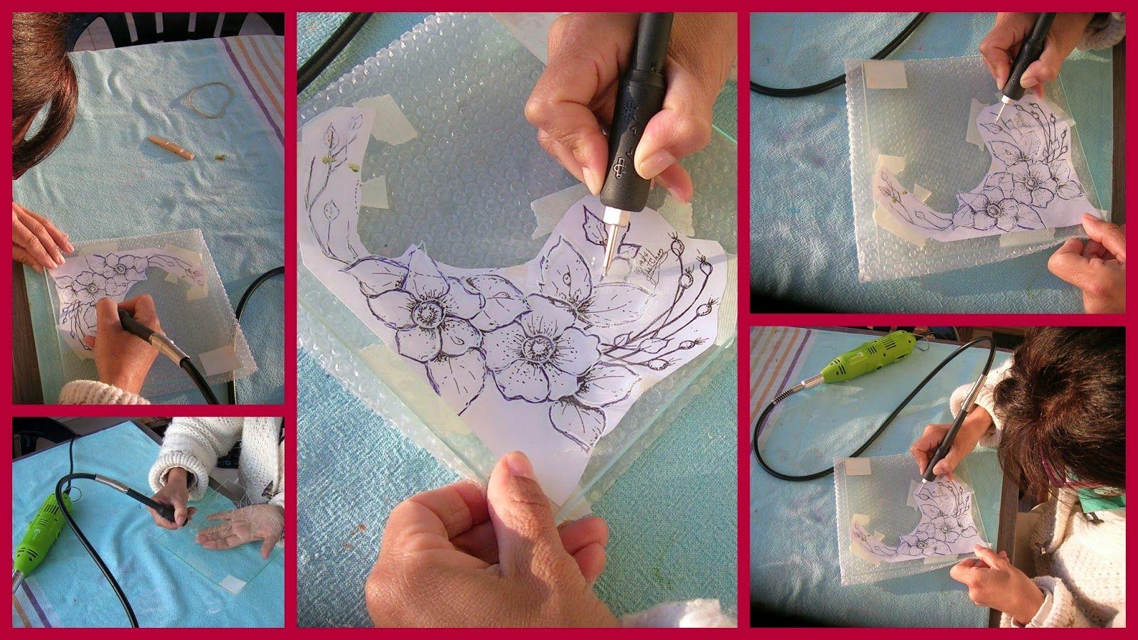 Tallar cristal... ¡Otro descubrimiento! | Aprender manualidades es facilisimo.com