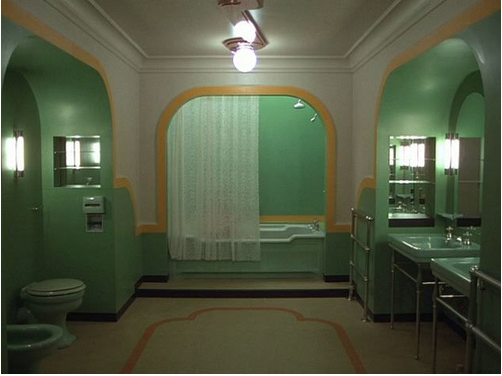 Creepy Bathroom With Naked Lady The Shining