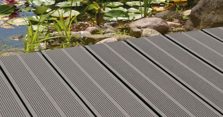 Charming Wood Plastic Patio Decking