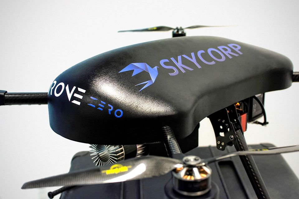 New Skycorp Hydrogen Powered Drone Can Flies For 2 Hours Straight Drone Fuel Cell Hydrogen Fuel Cell