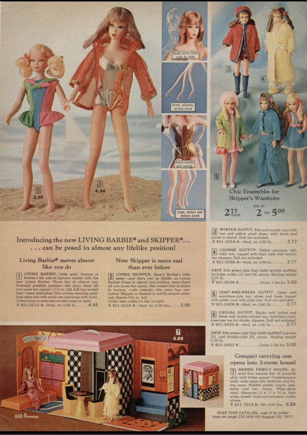 Jcpenney Christmas Catalog 2019 1970 JCPenney Christmas catalog page 448 | Retro in 2019 | Barbie