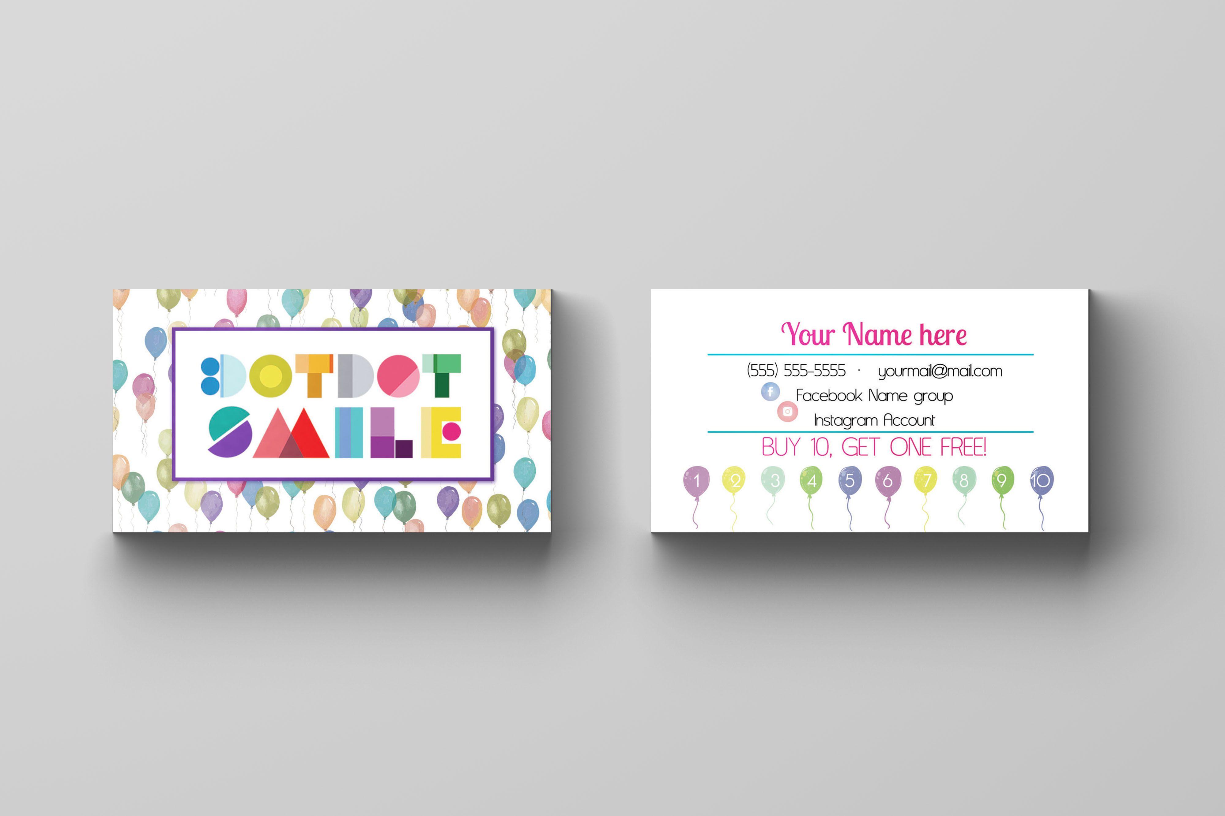 dotdot smile business card 2 dotdot smile pinterest
