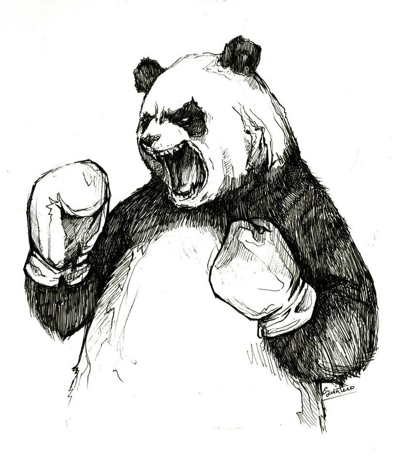 the angry boxing panda by ylimes on deviantart t shirt idea
