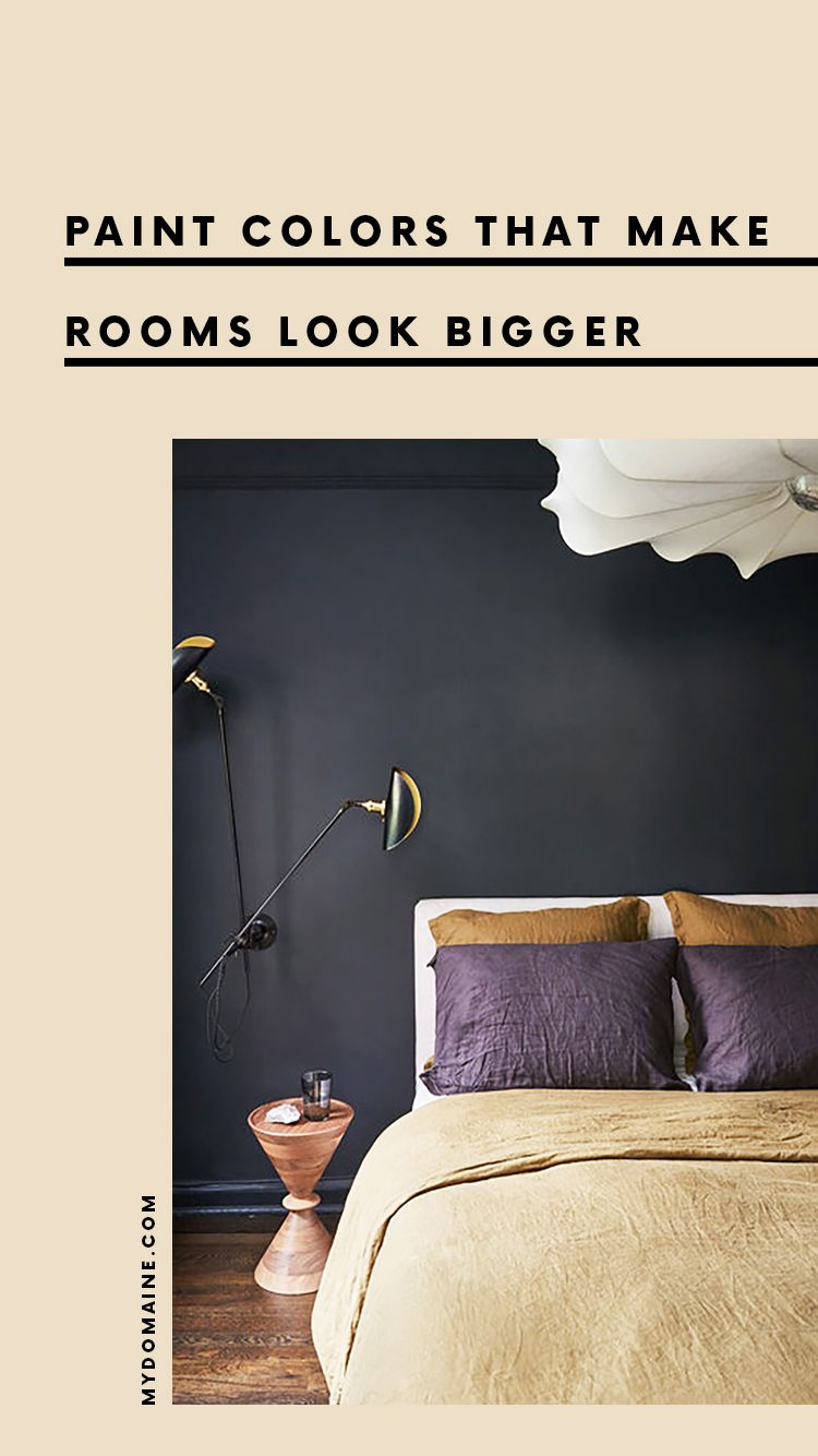 Paint Colors That Make Rooms Look Bigger Small Bedroom Paint