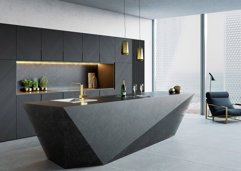 50 Lovely Kitchen Island Designs In 2020 Ideas For Kitchen Planning Luxury Kitchen Design Modern Kitchen Design Modern Kitchen Island Design
