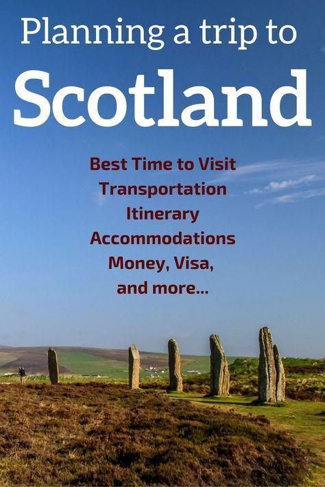 Planen Sie Ihren Schottland Road Trip – Reiseroute, Zeitplan, Tipps … (Praktischer Führer) #travelscotland