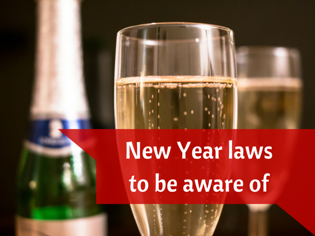 New Year laws