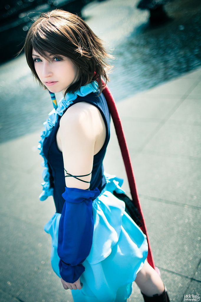 Souvent final fantasy Cosplay | Breathtaking Final Fantasy X-2 Yuna Braska  XF54