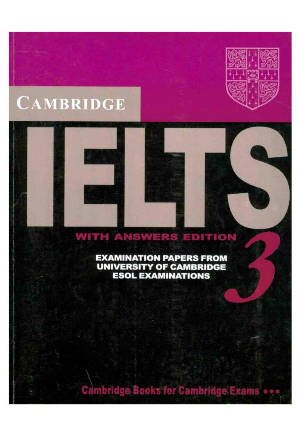 Cambridge Practice Tests for IELTS 3 by Shqiprim CANI via slideshare