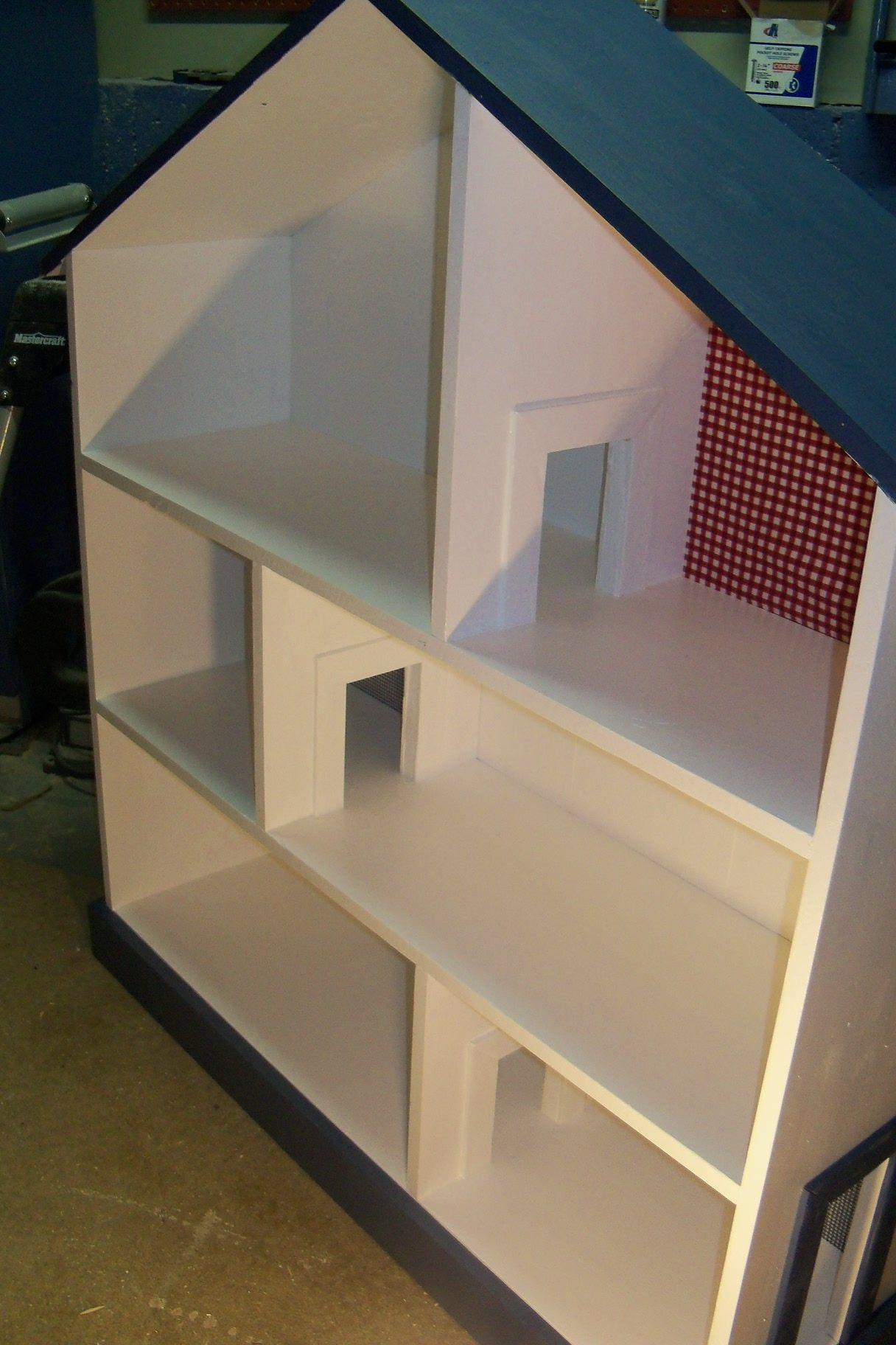 Doll house book shelf do it yourself home projects from ana white doll house book shelf diy projects solutioingenieria Images