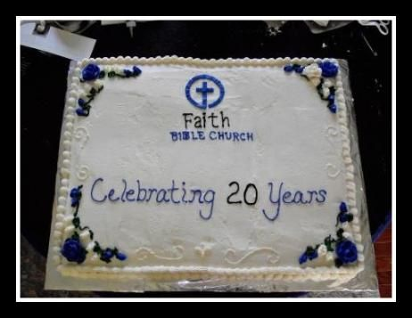 Church Anniversary Cake Anniversary Cake Cake Cake Decorating