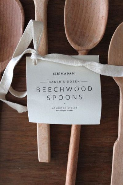 A wooden spoon is a time-honored must-have in your kitchen. Handcarved by craftsmen, this Baker's Dozen Beechwood Spoon set is gorgeously crafted. Each wooden spoon is unique in its appearance and fun