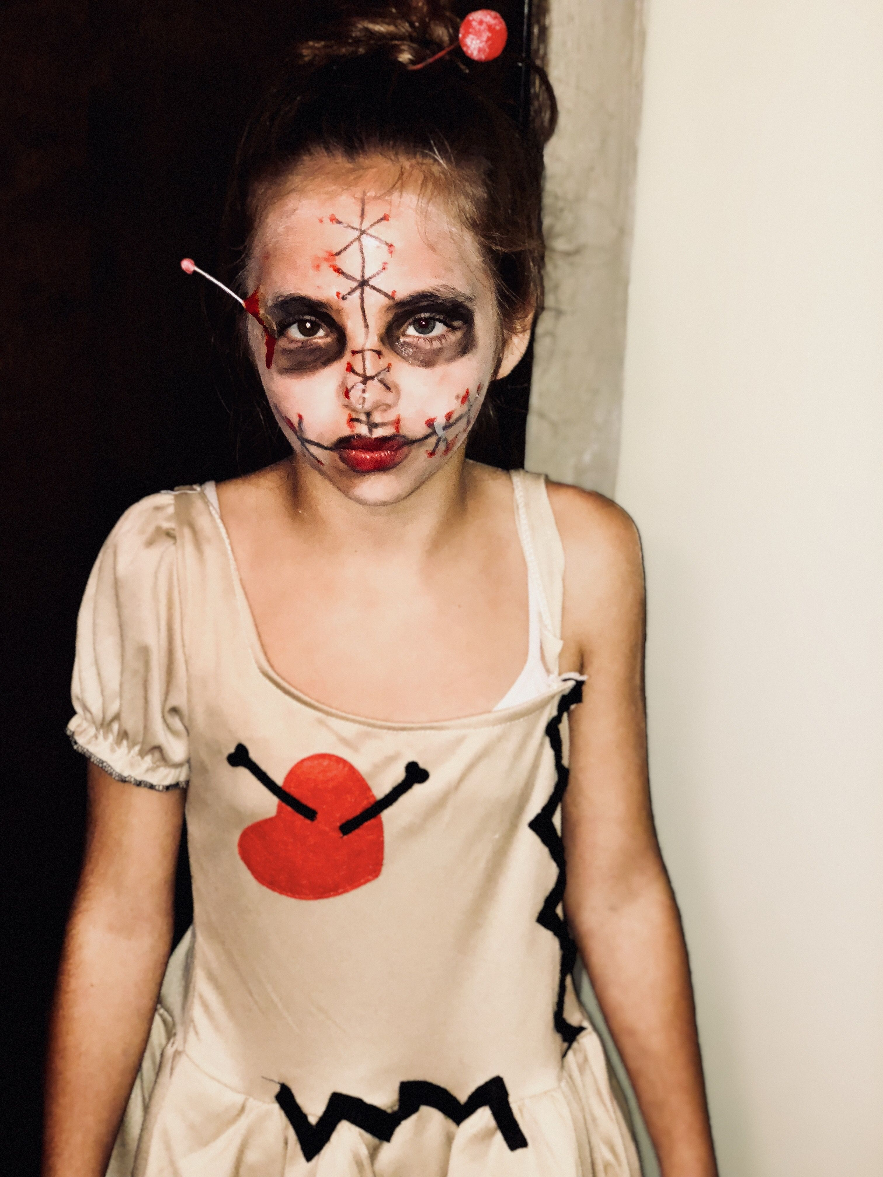 Easy zombie makeup for toddlers zombie makeup spooky halloween