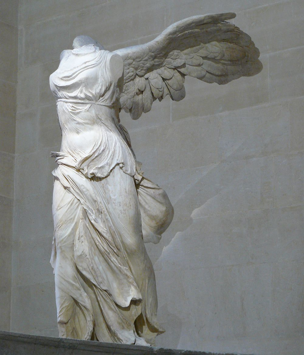 What Does The Nike Logo Mean Winged victory of