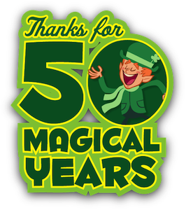 Magically Delicious Lucky Charms Celebrates 50 Years With Cereal Boxes Full Of Green Marshmallow Clovers Lucky Charm Lucky Charmed