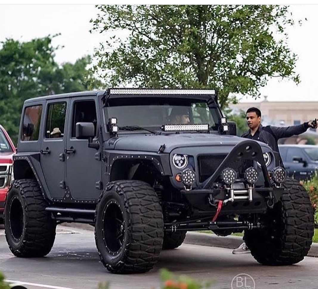 Pin by Kent Tidyman on Jeep Custom jeep, Black jeep