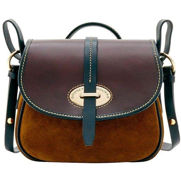 Dooney Bourke Verona Suede Christina Crossbody Bag 15485 Rub