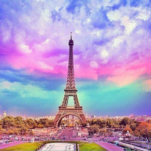 Beauty Colors Surrounding A Beautiful Tower During Sunset Paris Wallpaper Paris Pictures Eiffel Tower Beautiful wallpaper high quality eiffel