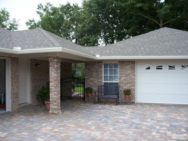 Garage Addition with Breezeway