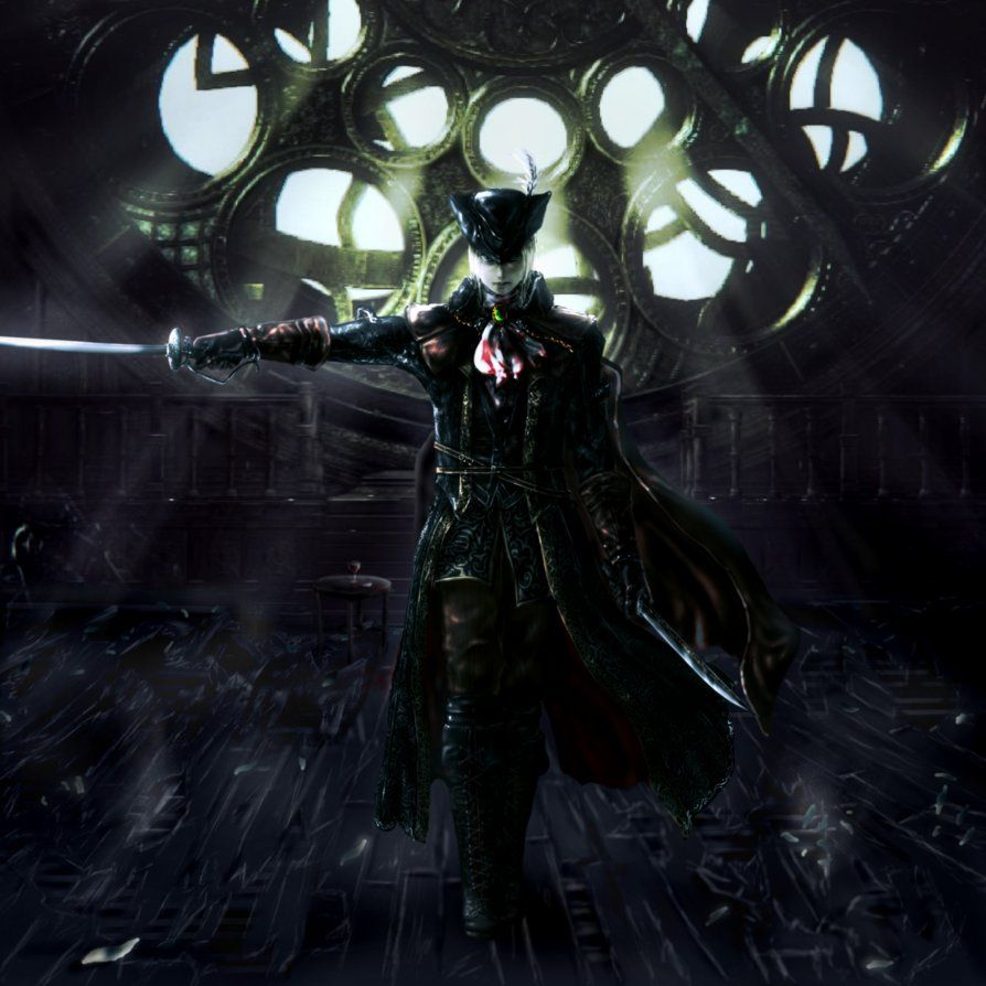 Maria Of Astral Clocktower Bloodborne By Passakorn01 Bloodborne Dark Souls Bloodborne Art
