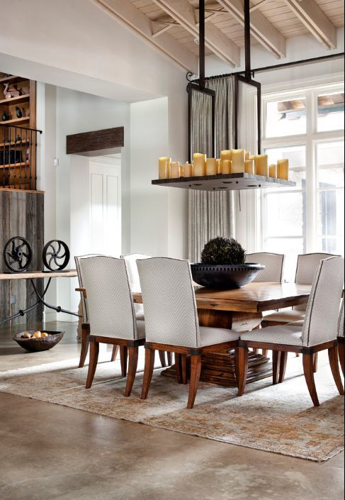 Photos  idées pour revamper votre salle à manger traditionnelle