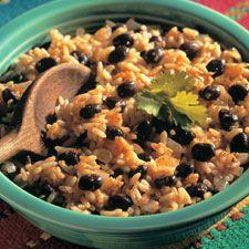 Cuban Rice and Black Beans #cubanrice