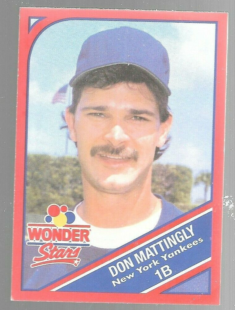 1990 Wonder Bread Stars Don Mattingly 6 Of 20 New York Yankees Baseball Ebay In 2020 New York Yankees Baseball Don Mattingly Yankees Baseball