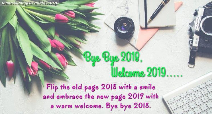 Goodbye 2018 2019 Images Happy quotes, Image