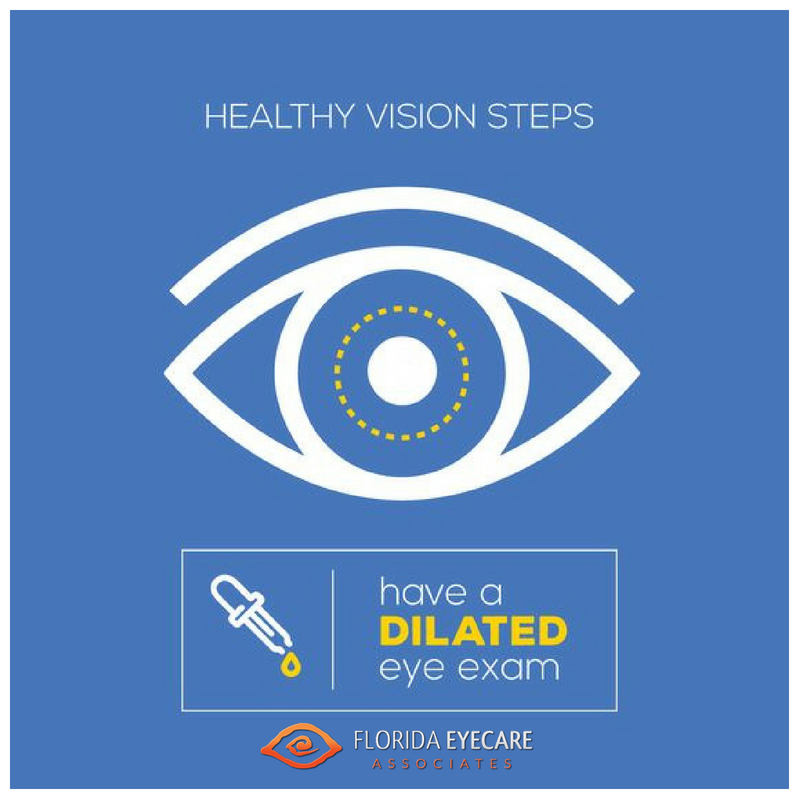 The First Step In Lifelong Vision Health Is A Dilated Eye Exam