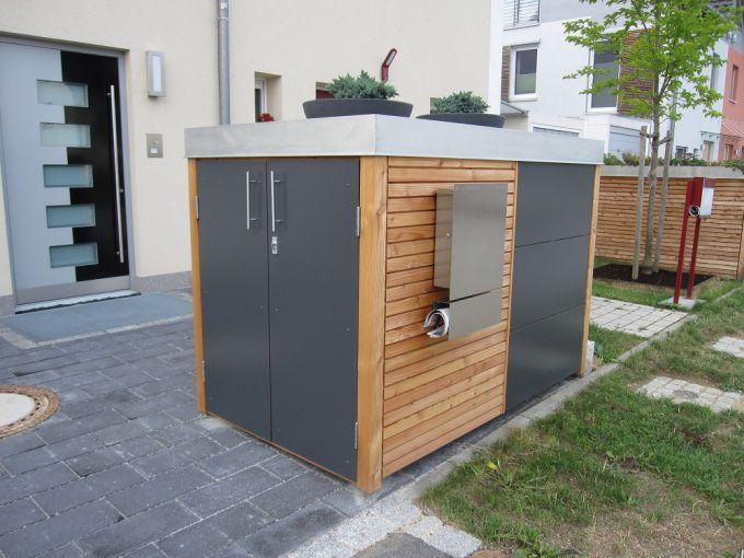 Fahrrad- und Motorradgaragen - die traumgarten ag | Gartenhaus ...