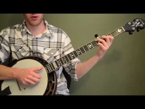 Wildwood Flower Beginner Banjo Lesson With Free Tabs and Practice ...