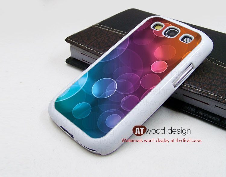 Beautiful Samsung Galaxy S3 i9300 Case Samsung Galaxy SIII case unique Case colorized graphic design. $14.99, via Etsy.