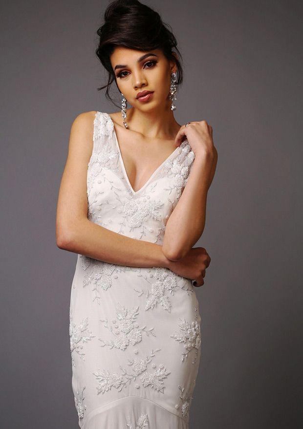 bejewelled beauties - virgos lounge wedding dresses