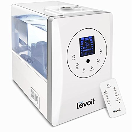 Levoit Humidifiers 6l Warm And Cool Mist Ultrasonic Humidifier