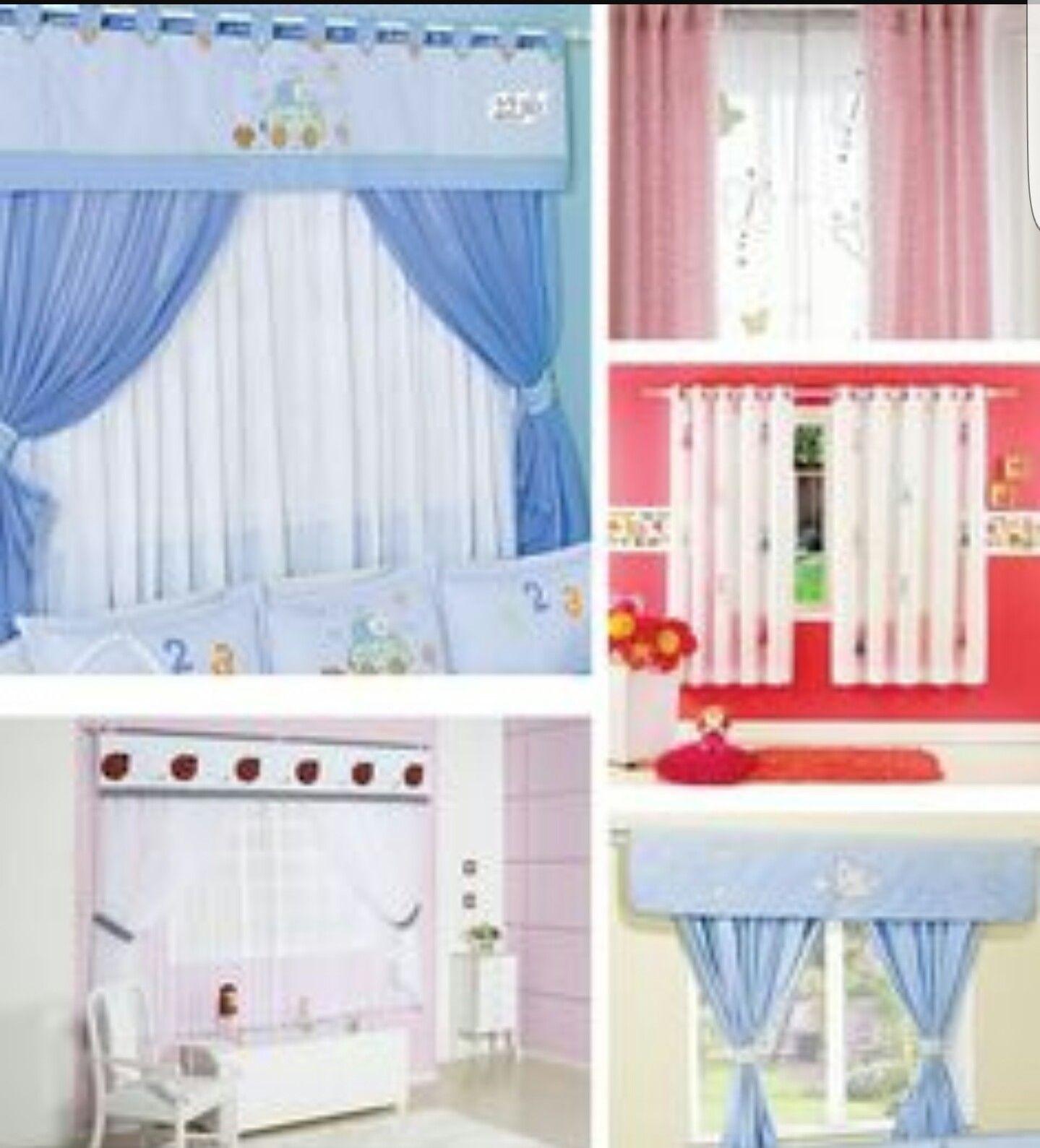Decoraci n para cuarto de beb recamaras de ni os for Cortinas para cuarto de bebe