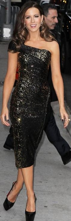 Dress - Donna Karan Shoes - Christian Louboutin Jewelry - Neil Lane Same dress in gold Donna Karan Collection One Shoulder Sequin Dress similar style shoes Christian Louboutin Highness 160 high heel pump