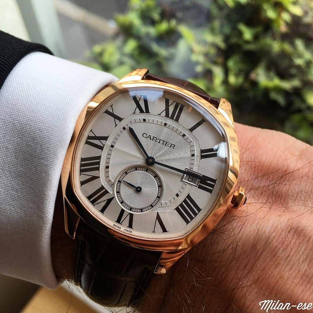 Wristprn Drive De Cartier Wristporn By Milanese Www Wristporn Com Luxus Uhren Cartier Uhren Männer Accessoires