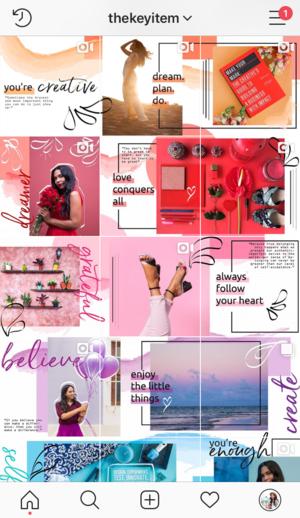 Cómo Crear Un Feed De Rompecabezas En Instagram The Key Item Mejores Feeds De Instagram Disenos De Unas Diseño De Redes Sociales