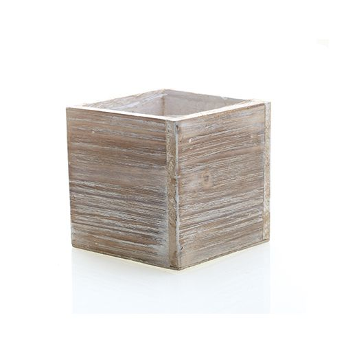 Whitewashed Woodland Planter Floral Containers Hassle Free Shipping Wood Centerpieces