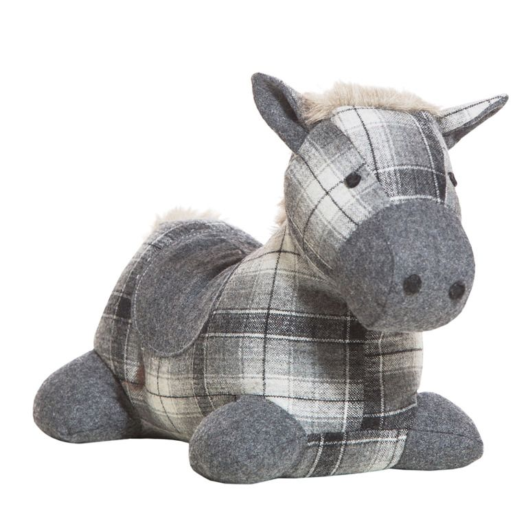 The Waldhausen Horse Door Stop is a cute and lovable door stop that ...