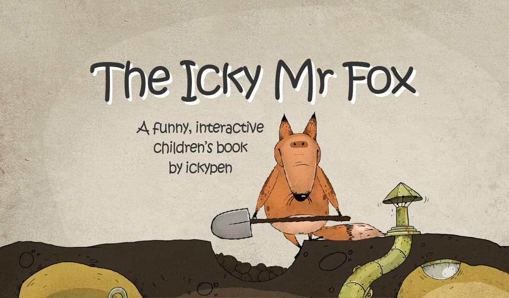 Icky Mr Fox Story Book App for Children Kids app